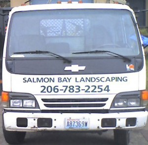 Salmon Bay Landscaping Truck - Seattle Landscapers